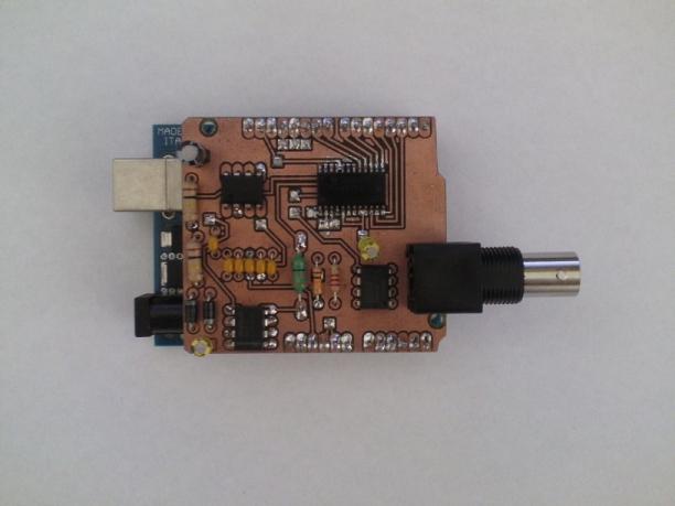 Arduino based digital oscilloscope the robot fix